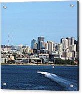 Sunny Seattle Acrylic Print