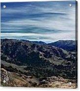 Sunol Panorama Acrylic Print