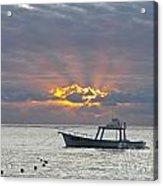 Sunrise - Puerto Morelos Acrylic Print