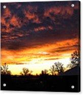 Sunrise 01 05 12 Acrylic Print