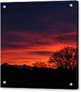 Sunrise 01 10 12 Acrylic Print