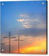 Sunrise And Easter Theme Acrylic Print