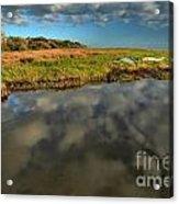 Sunrise At Brooks Island Refuge Acrylic Print