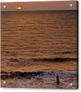 Sunrise At Jacksonville Acrylic Print by Joe Bonita