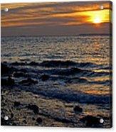 Sunrise At Mt Loretto Beach Acrylic Print