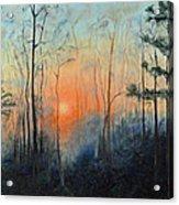 Sunrise At Pike Road Acrylic Print