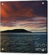 Sunrise At Portlock Acrylic Print