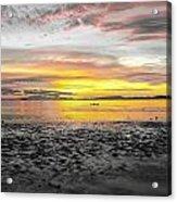 Sunrise At Sea 2 Acrylic Print