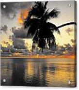 Sunrise At Sea 3 Acrylic Print