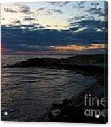Sunrise At The Edge Acrylic Print
