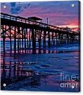 Sunrise At The Pier 2 Acrylic Print