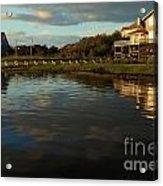 Sunrise At The Shore Acrylic Print