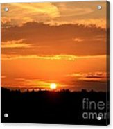 Sunrise August 1 2012 Acrylic Print