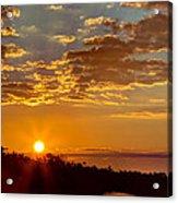 Sunrise Bayou Acrylic Print