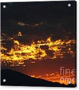 Sunrise Burning Acrylic Print
