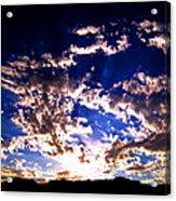 Sunrise Acrylic Print by Catherine Natalia  Roche