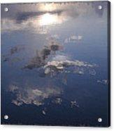 Sunrise Cloud Reflections Acrylic Print