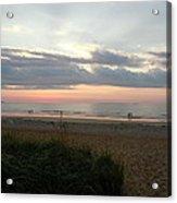 Sunrise Colors Of Maine Acrylic Print
