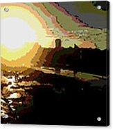 Sunrise Acrylic Print by David Alvarez