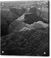 Sunrise Goosenecks San Juan River Utah Acrylic Print