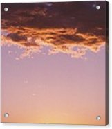 Sunrise In Arizona Acrylic Print