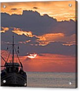 Sunrise In Crete Acrylic Print