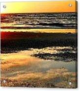 Sunrise In Jekyll Island Acrylic Print