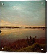 Sunrise In Orlando Acrylic Print