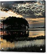 Sunrise On Assateague Acrylic Print
