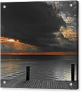 Sunrise On Key Islamorada Acrylic Print