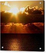 Sunrise On Sea 1 Acrylic Print