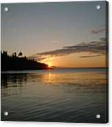 Sunrise On Superior Acrylic Print