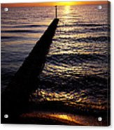 Sunrise On The Coast Acrylic Print