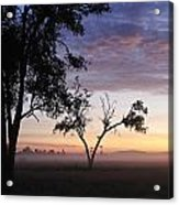 Sunrise On The Masai Mara Acrylic Print