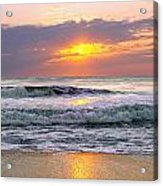 Sunrise On The Outer Banks Acrylic Print