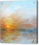 River Sunrise Acrylic Print