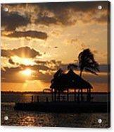 Sunrise Over Bay Acrylic Print