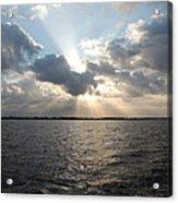 Sunrise Over Keaton Beach Acrylic Print