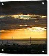 Sunrise Over Kessock Acrylic Print