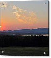 Sunrise Over Lake Winnisquam Acrylic Print