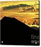 Sunrise Over Maui Acrylic Print
