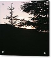 Sunrise Over Mt Still Acrylic Print