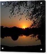 Sunrise Over Paradise  Acrylic Print