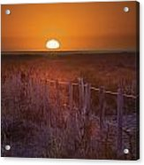 Sunrise Over The Pampa Of Argentina San Acrylic Print