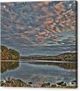 Sunrise Putnam Lake Acrylic Print