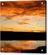 Sunrise Reflections Acrylic Print