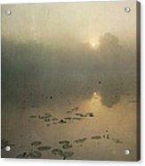 Sunrise Through Mist Acrylic Print
