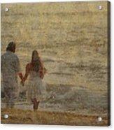 Sunrise Wedding Acrylic Print