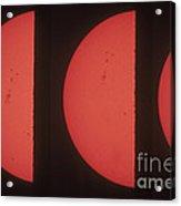 Suns Northern Hemisphere Acrylic Print