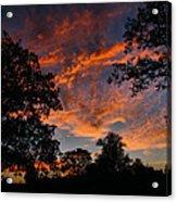 Sunset 07 26 12 Two Acrylic Print